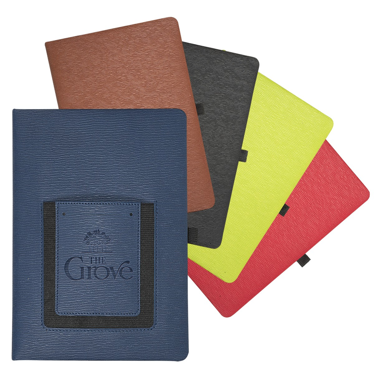 notebook with phone pocket, fresh ideas for fall