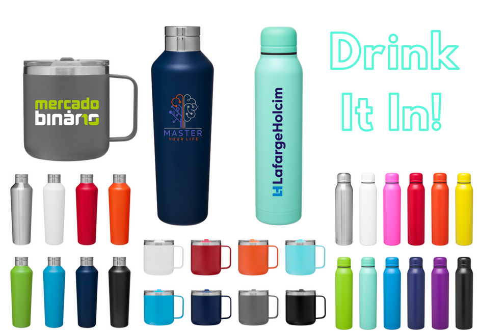 drinkware collage, fresh ideas for fall