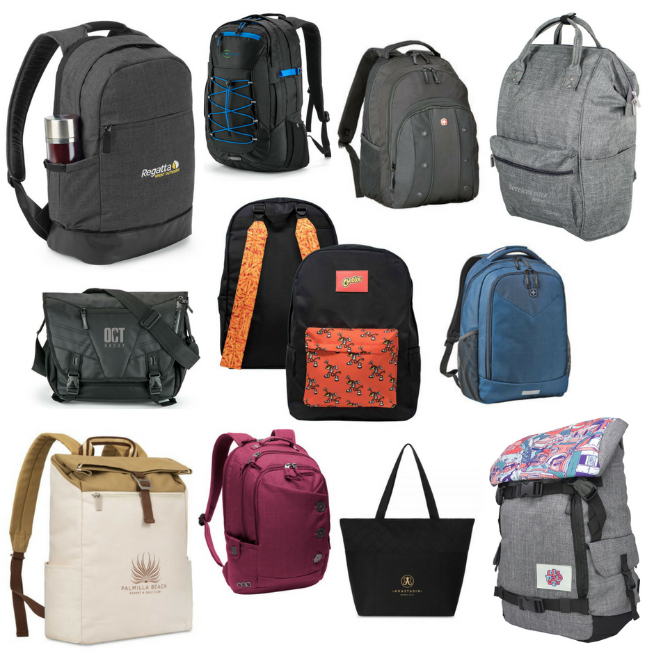 backpack collage, fresh ideas for fall